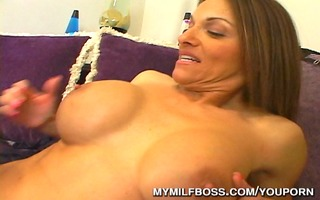 large titty d like to fuck boss drilled at office