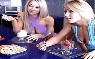 super hot lesbian babes nikki and sammie entice a