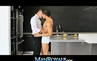manroyale mid day large shlong brunch fuck