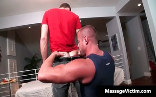 hot and lewd man acquires the massage