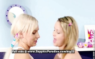 zoe and carie astonished lesbian legal age