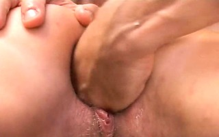 paramour fisting and fucking her anal