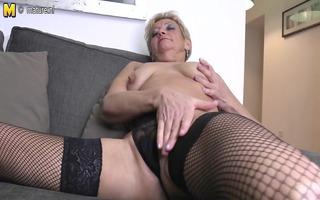 naughty granny dreaming of juvenile dong