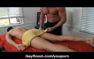 gayroom raunchy tension alleviated