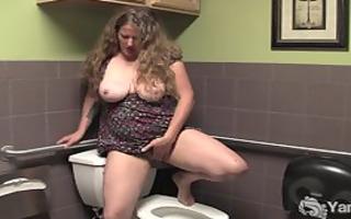 breasty older jane masturbate her unshaved
