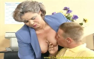 breasty mommy can office sex