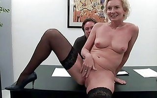 four sexually excited guys fuck one 69yo aged