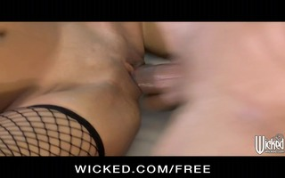 wicked - hawt asian maid kaylani lei cleans up