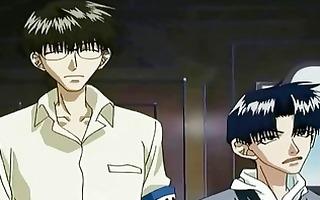 kubota and tokitou homosexual pair at school