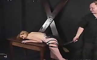 tiny mounds lady spanked and teased by her