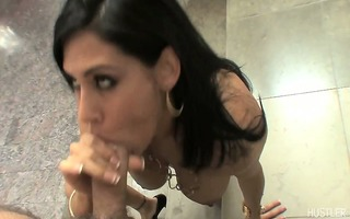 raylene slipping uncut ramrod between her lush