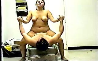 chubby girl riding bf