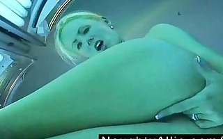 masturbating at the tanning salon dilettante wife