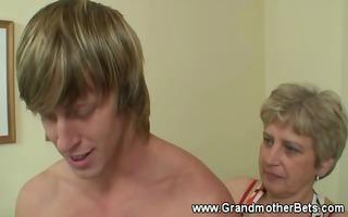 granny seducing younger penis
