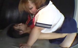 icd-4115 asian large beautiful woman school &