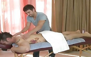 hawt homo massage parlor with a hidden camera