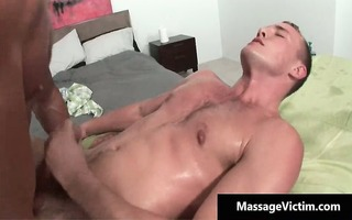alex acquires his oily taut chocolate hole screwed