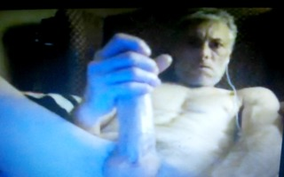 dad with massive rod jerking on livecam