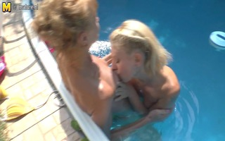 daughter screwed by immodest old lesbo aunty