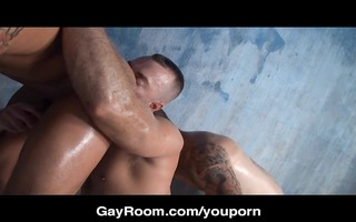 gayroom bangin in the bathhouse