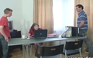 recent jocks for office granny