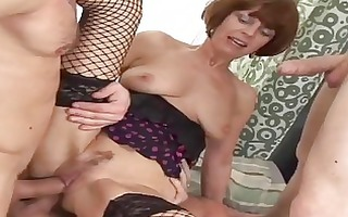 older angel acquires banged by three guys