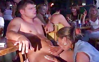cheating wives girlfriends engulf cock at disrobe