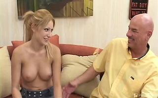 lisa is one indecent pint-sized slut! ve bribed