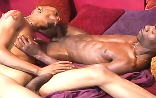 darksome pecker is always willing to slide into