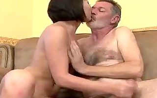 older man fuck this juvenile chick