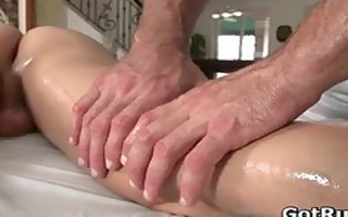 massage pro in unfathomable anal wrecking