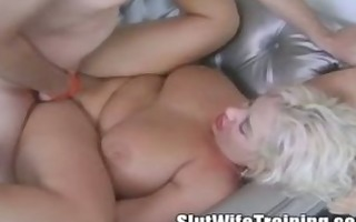 breasty mature mommy on sex training