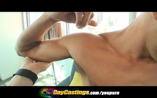 gaycastings foot lengthy ramrod smiles for the