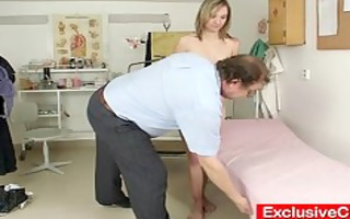 small sweetheart scarlet harrassed by gyno doctor