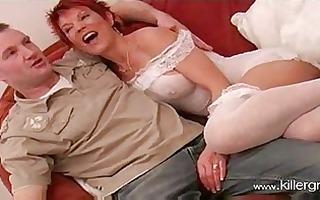 sexy older brit redhead lynne warner banging