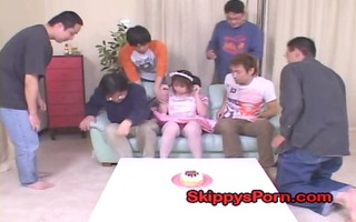 legal age teenager plays with dad and brothers