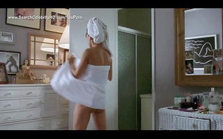 demi moore striping to undressed topless -
