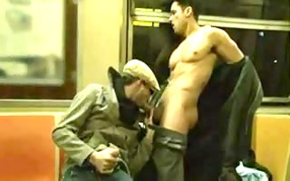 sexy subway ride