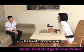 femaleagent. d like to fuck casts young nervous