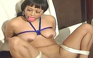 sexy ebon hottie desires trio thraldom act
