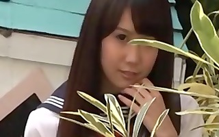 misaki aihara is appetizing school beauty