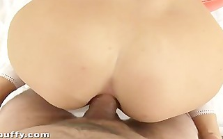 golden-haired enjoys anal and watersports