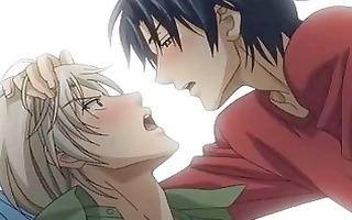 anime homosexual guys having a hawt love affair