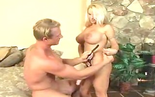 holly halston copulates and blows him at the same