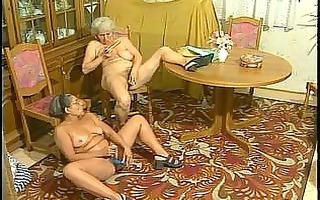 concupiscent granny acquires hard screwed from