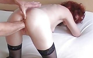fist fucking my wifes loose slit