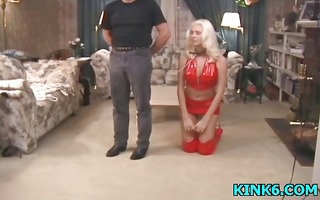 hawt whore acquires hog fastened and tit-tortured
