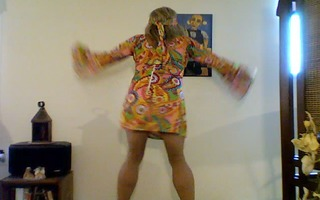 pantyhosed hippie hottie