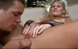 older maid lynn ross bonks younger dude
