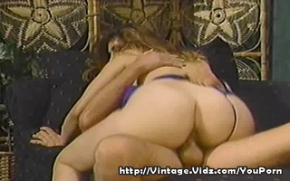 vintage sex with woman on top